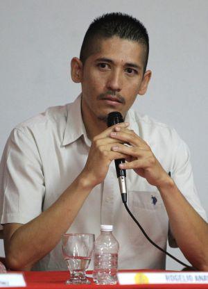 Rogelio Anaya, uma das vítimas da tortura da polícia mexicana.