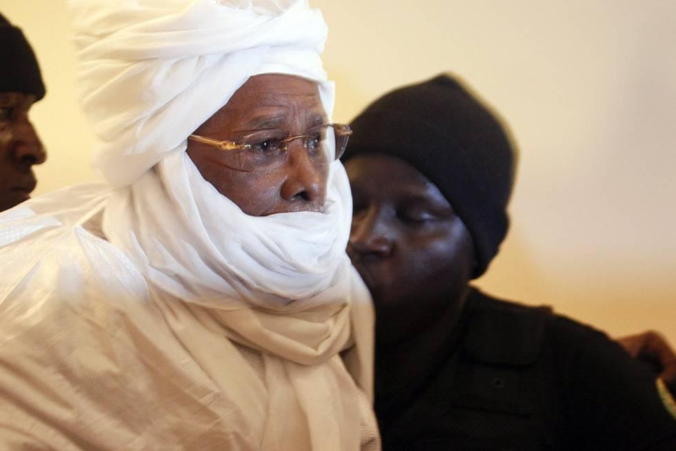 O ex-líder do Chade Hissène Habré.