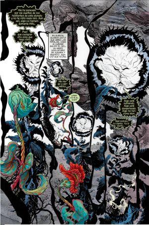 Uma das primeiras páginas do retorno do Neil Gaiman a Sandman.
