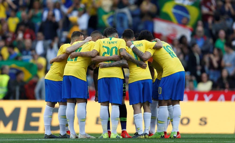 Brasil empatou por 1 a 1 com o Panamá em Portugal.