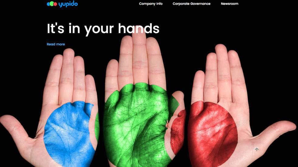 Site oficial da Yupido.