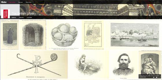 A página de download da Biblioteca Britânica.