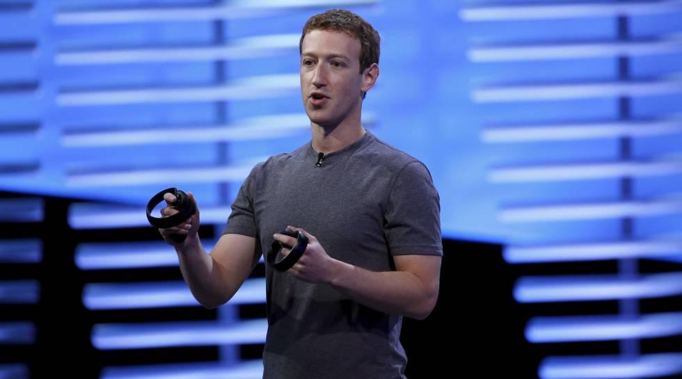 Mark Zuckerberg, durante o Facebook F8 em São Francisco.