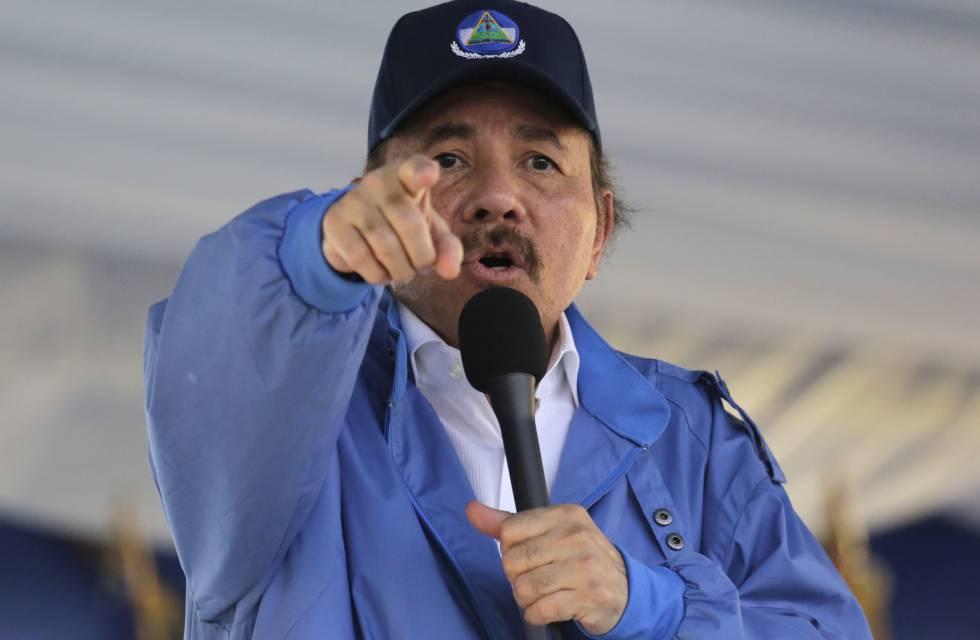 Ortega, durante um evento em agosto passado.