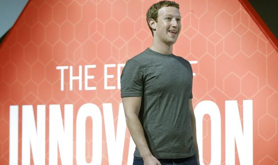 O cofundador do Facebook, Mark Zuckerberg.
