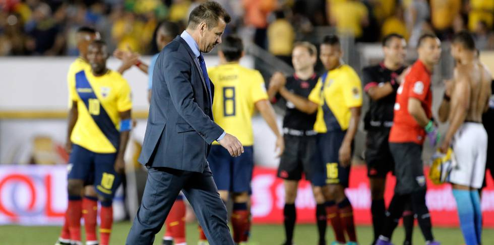 Dunga, ex-treinador do Brasil.