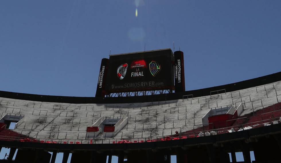 Monumental de Nuñez não receberá a final neste domingo.