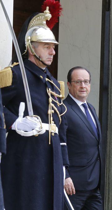 Francois Hollande, na semana passada.