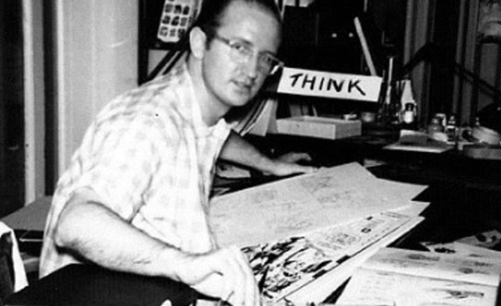 Steve Ditko, em uma imagem de arquivo.
