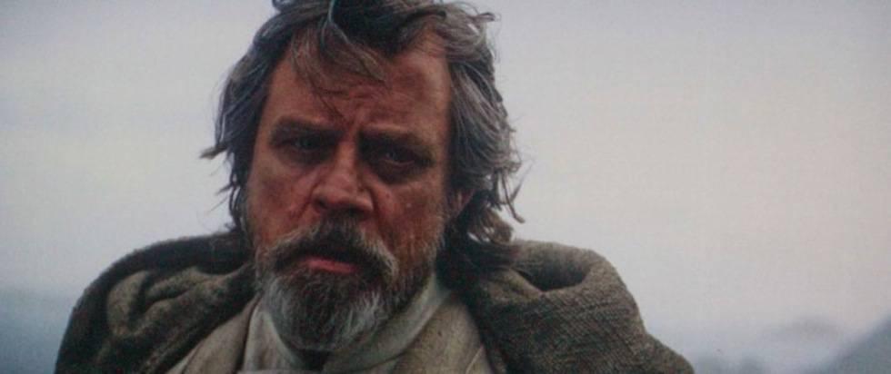 Mark Hamill como Luke Skywalker em 'Star Wars'.