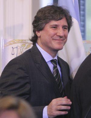 O vice-presidente argentino, Amado Boudou, o passado 4 de fevereiro.