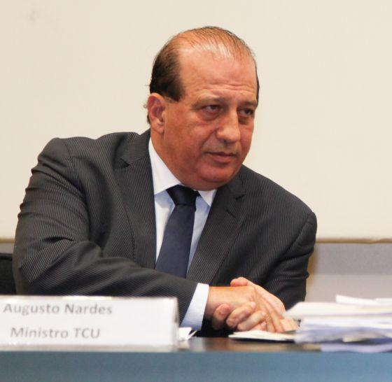 O presidente do TCU, Augusto Nardes.