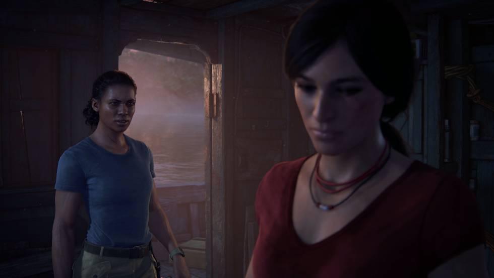 Imagem das duas protagonistas de 'Uncharted. The lost legacy'.