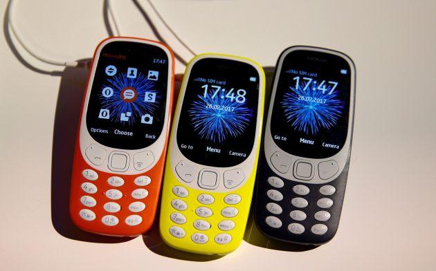 Os novos Nokia 3310.