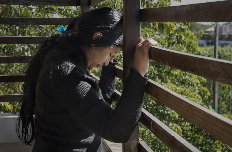 Soledad sofre desde criança uma longa história de abusos, exploração sexual e violência.