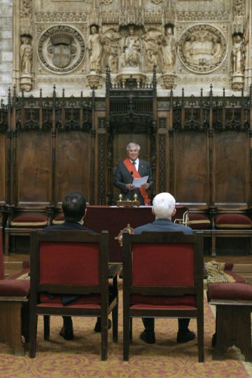 Joan Clos, ex-prefeito de Barcelona, ao realizar o primeiro casamento gay, há 11 anos.