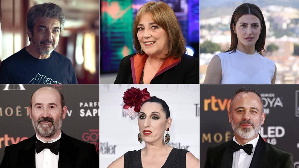 Alguns dos atores hispano-americanos incluídos na Academia.