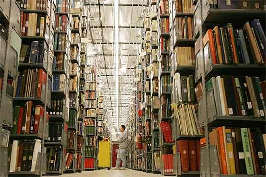 Biblioteca de la Universidad de Michigan (Estados Unidos), de la que Google ha digitalizado 2,4 millones de libros.