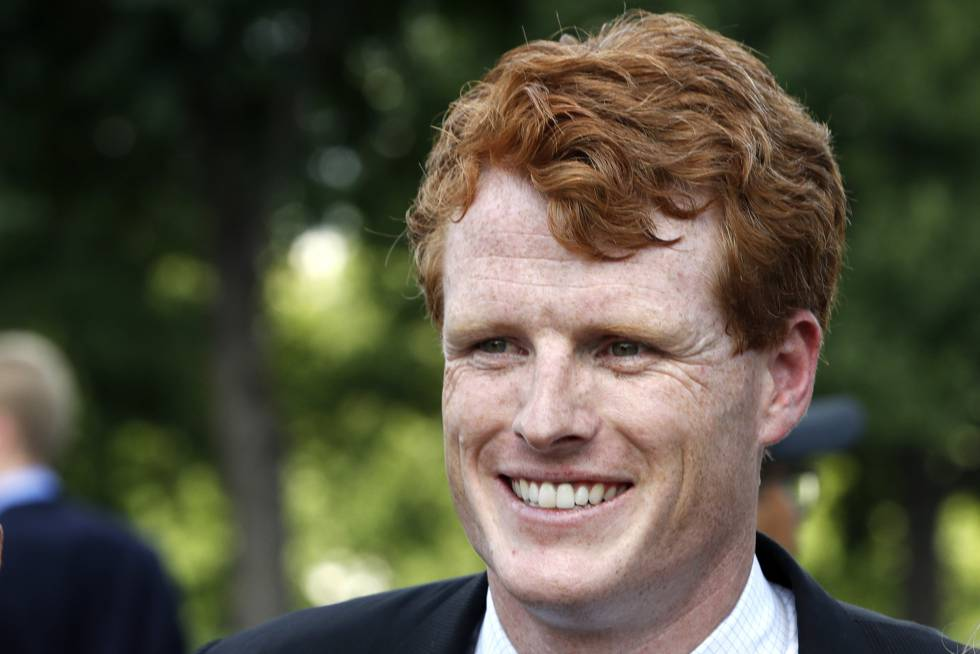 Joe Kennedy, congressista por Massachusetts, neto de Bob Kennedy