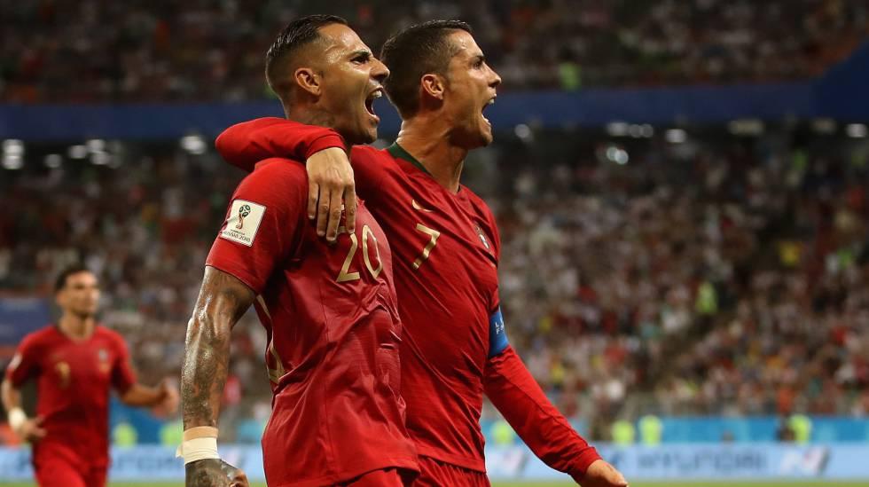 Ricardo Quaresma e Cristiano Ronaldo.