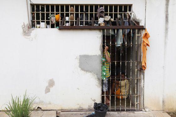 Uma prisão do Mato Grosso em 2012.