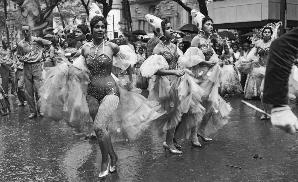 Cena de carnaval (circa 1950).