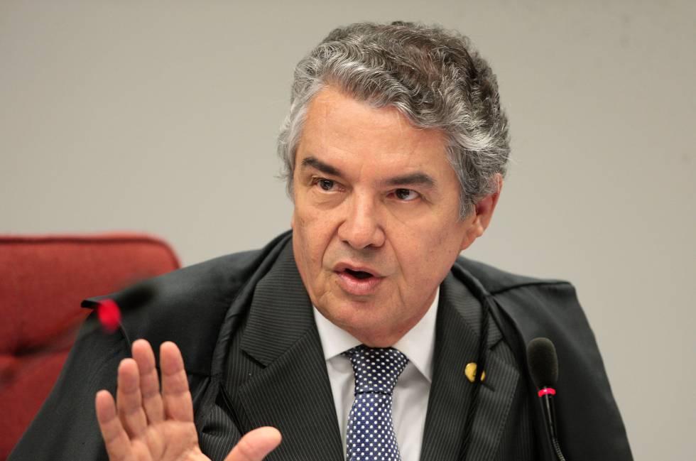 O ministro Marco Aurélio Mello, cuja decisão de mandar soltar condenados em segunda instância pode beneficiar o ex-presidente Lula, preso desde abril.