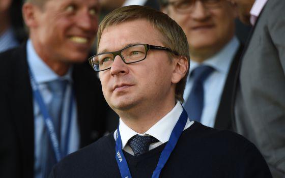 O diretor-executivo do Shakhtar Donetsk, Sergei Palkin.