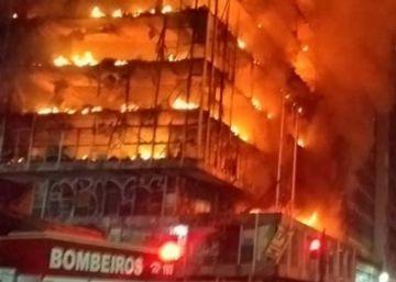 Cerca de 150 famílias ocupavam o edifício, no Largo do Paissandu. Uma pessoa está desaparecida